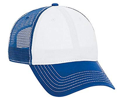 Superior Garment Washed Cn Twill Low Profile Pro Style Mesh Back Caps - By TheTargetBuys