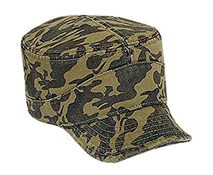 Hats & Caps Shop Camouflage Superior Garment Washed Cn Twill Flexible Soft Visor Military Style Caps - By TheTargetBuys