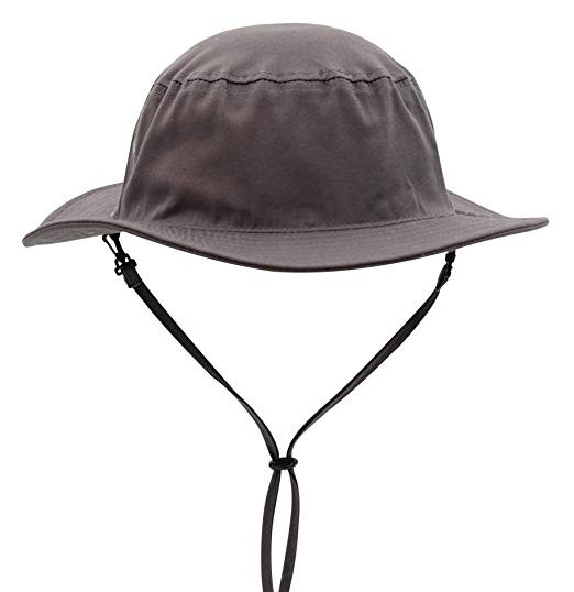 Connectyle Mens Daily Cotton Sun Hat Medium Brim Bucket Fishing Hats Hiking Hat