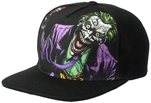 Warner Bros. Joker Die Laughing Baseball Cap, Adjustable